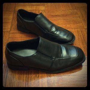 Big Boy Black Dress Shoe Slip On  sz 5 medium